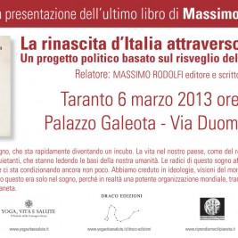 Invito alla conferenza: Taranto 6 Marzo 2013