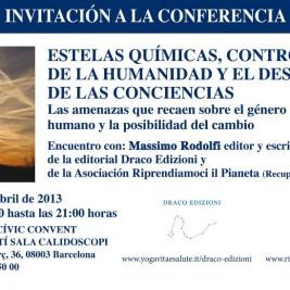 Conferenza Scie Chimiche a Barcellona – 15 Aprile 2013
