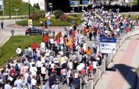 Manifestazione Contro Incenitore del Gerbido a Torino