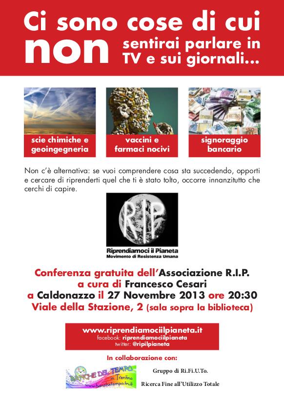 RIP-Volantino Gruppo Trentino - Alto Adige