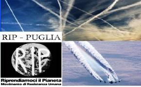 """Manduria, Giovedi 12 Dicembre 2013 ore 18:30: Serata informativa sul tema: """"SCIE CHIMICHE E GEOINGEGNERIA, primi approcci al problema"""""""