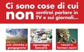 """Camerino (MC) 2 Febbraio 2014 Ore 18:00, Incontro Informativo: """"Scie Chimiche, Geoingegneria, Risveglio della Coscienza"""""""