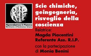 """Fabriano (AN) 2 Giugno 2014: """"SCIE CHIMICHE, GEOINGEGNERIA, RISVEGLIO DELLA COSCIENZA"""""""