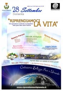 """Manduria (TA) Domenica 28 Settembre 2014 """"Riprendiamoci la Vita"""""""