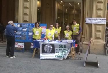 Bologna, 11 Aprile 2015: Banchetto Informativo RIP-MRU
