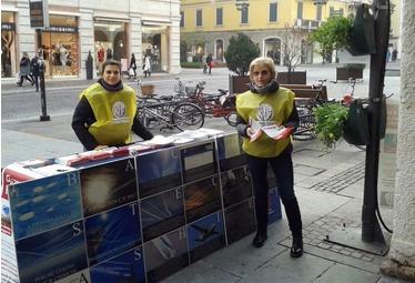 Brescia, 27 Giugno 2015: Banchetto Informativo RIP-MRU