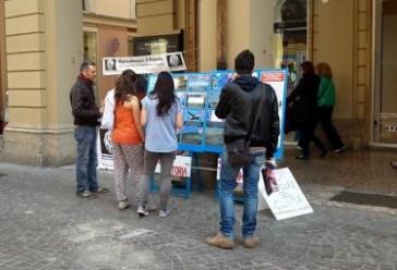 Bologna 25 Ottobre 2015: Banchetto Informativo RIP – MRU