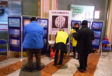 Milano, 12 Dicembre 2015: Banchetto Informativo RIP – MRU
