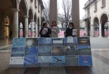 Bergamo, 5 Marzo 2016: Banchetto Informativo RIP-MRU