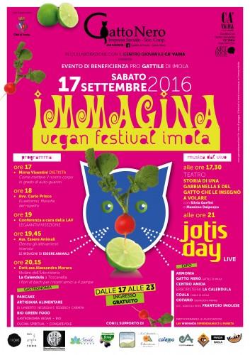 Locandina A3 ImmaginaFest 2016