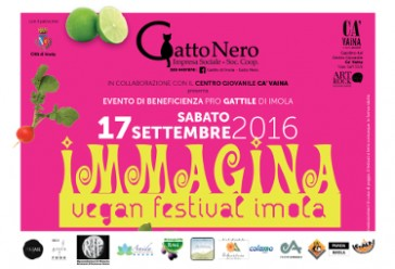 Rip a Immagina – Vegan festival Imola – 17 Settembre 2016