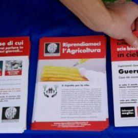 Banchetto Informativo RIP – MRU – Scandiano (RE) Novembre 2016