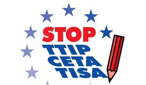 Stop TTIP, CETA, TiSA, Noi Ci Siamo