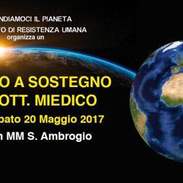 Presidio a Sostegno del Dott. Miedico – Milano, 20 maggio 2017