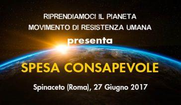 SPESA CONSAPEVOLE – Spinaceto (Roma), 27 Giugno 2017