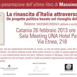 Invito alla conferenza: Catania 26 Febbraio 2013