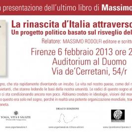 Invito alla conferenza: Firenze 6 Febbraio 2013
