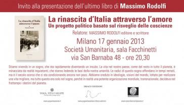 Invito alla conferenza: Milano 17 Gennaio 2013