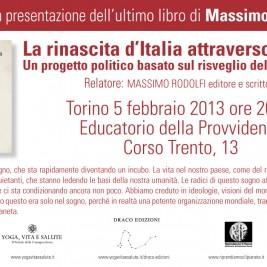 Invito alla conferenza: Torino 5 Febbraio 2013