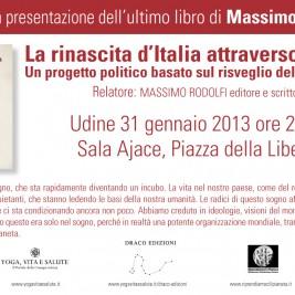 ANNULLAMENTO Conferenza: Udine 31 Gennaio 2013