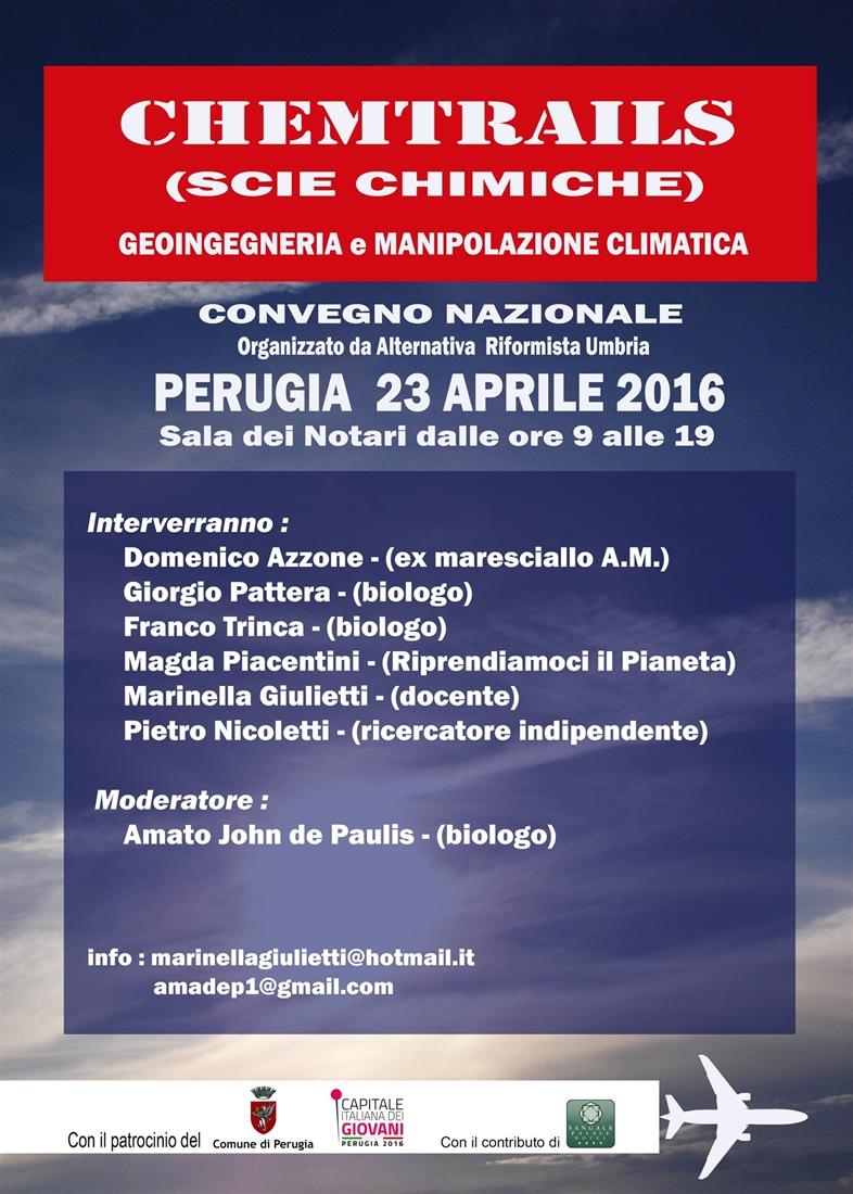 Perugia 23 Aprile 2016_Convegno Nazionale Chemtrails