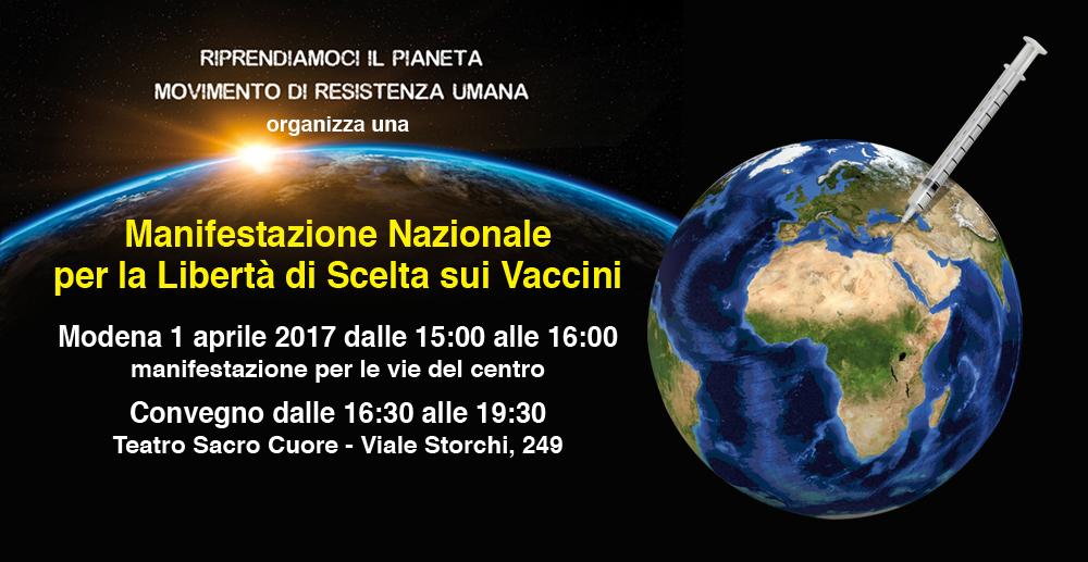 Manifestazione Nazionale per la Libertà di Scelta sui Vaccini ... 40b1a71c232